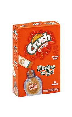 Crush Singles to Go |NYS Inmate Packages