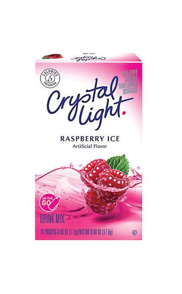 Crystal Light On The Go Sugar Free Soft Drink Mix, 10ct