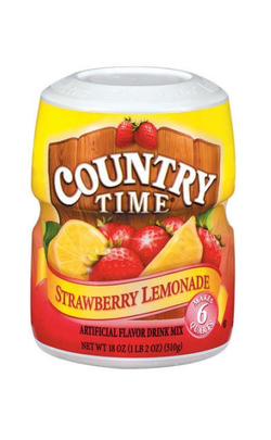 Country Time Lemonade Drink Mix, 18 oz