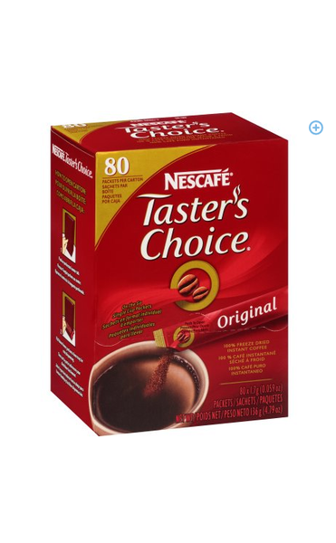 Nescafé Taster's Choice Instant Coffee 80ct