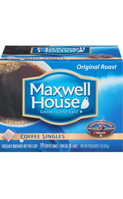 Maxwell House Original Coffee Singles 19ct