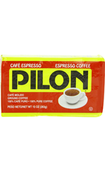Pilon Ground Espresso Coffee, 10 oz