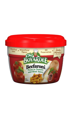 Chef Boyardee Beefaroni With Beef In Tomato Sauce, 7.5 oz