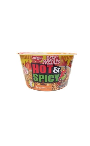 Nissin Bowl Noodles Hot & Spicy Chicken