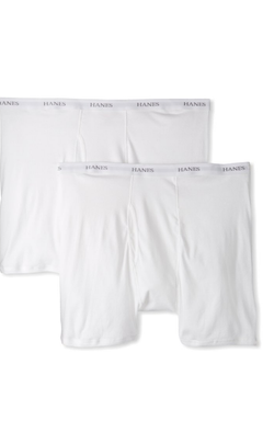 Hanes Men's 2 Pack Big & Tall Ultimate Boxer Brief