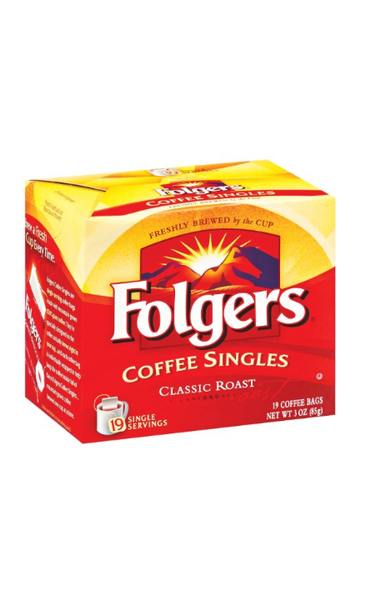 Folgers Coffee Singles
