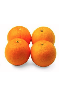 4 Large Navel Oranges
