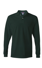 Jerzees Men's Jersey Long Sleeve Polo with Spot-shield