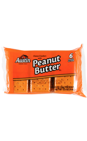 AUSTIN COOKIE & CRACKER VARIETY PACK 6PCK