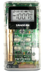 Sangean DT-120CL A/M / FM Pocket Receiver