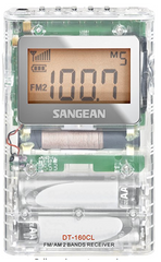 Sangean DT-160CL FM-Stereo/AM Pocket Radio