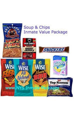 SOUPS & CHIPS INMATE VALUE PACKAGE-MED