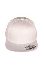 COTTON FLEXFIT YUPOONG FLAT BILL SNAP BACK