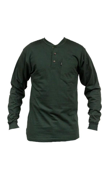 MEN'S L/S HENELY COTTON BLEND TEE