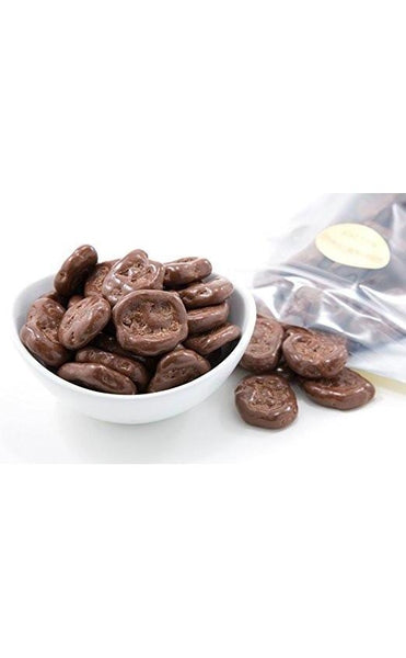 MILK CHOCOLATE COVERED BANANA CHIPS