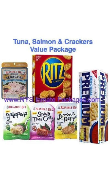 TUNA, SALMON, & CRACKER'S INMATE VALUE PACKAGE