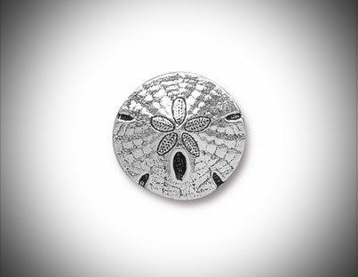 Copper Silver Sand Dollar Lapel Pin Tie Tack Groomsmen Summer Gift Accessory Beach Wedding Jewelry