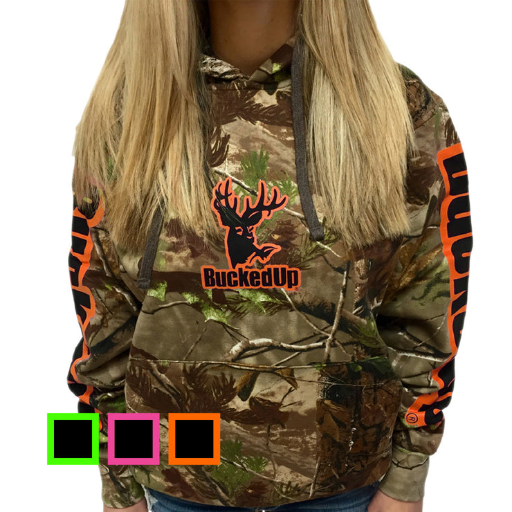 Realtree Camo Yoga Shorts Color Options By Girlswithguns22: BuckedUp Pullover Hoodie Realtree APG Camo