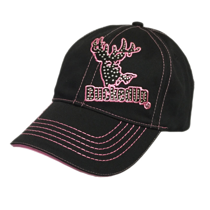 Black Pink Bling Hat