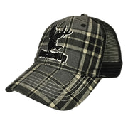 Plaid Mesh Hat
