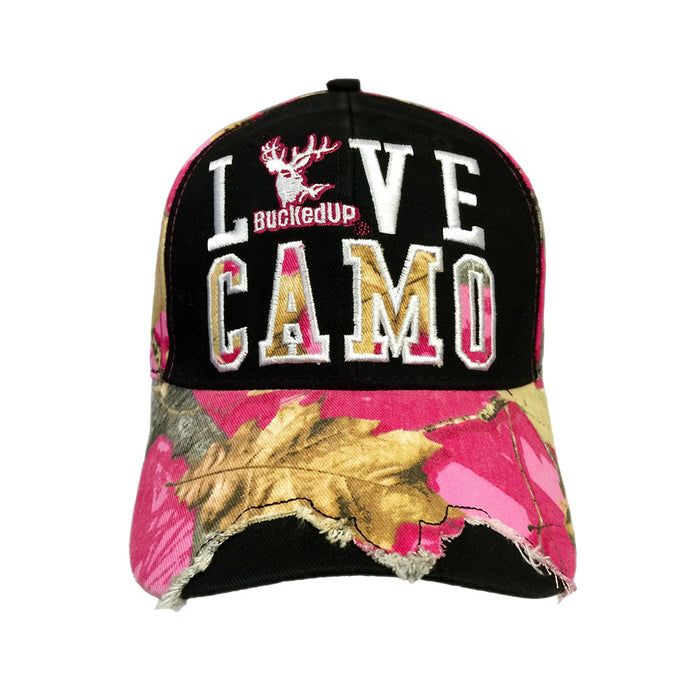 Destroyed Love Camo Hat