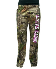 """LOVE CAMO"" Realtree Camo Lounge Pants"