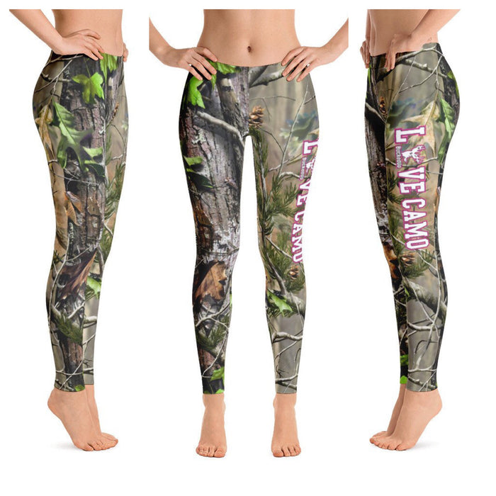"""LOVE CAMO"" Realtree APG Leggings"