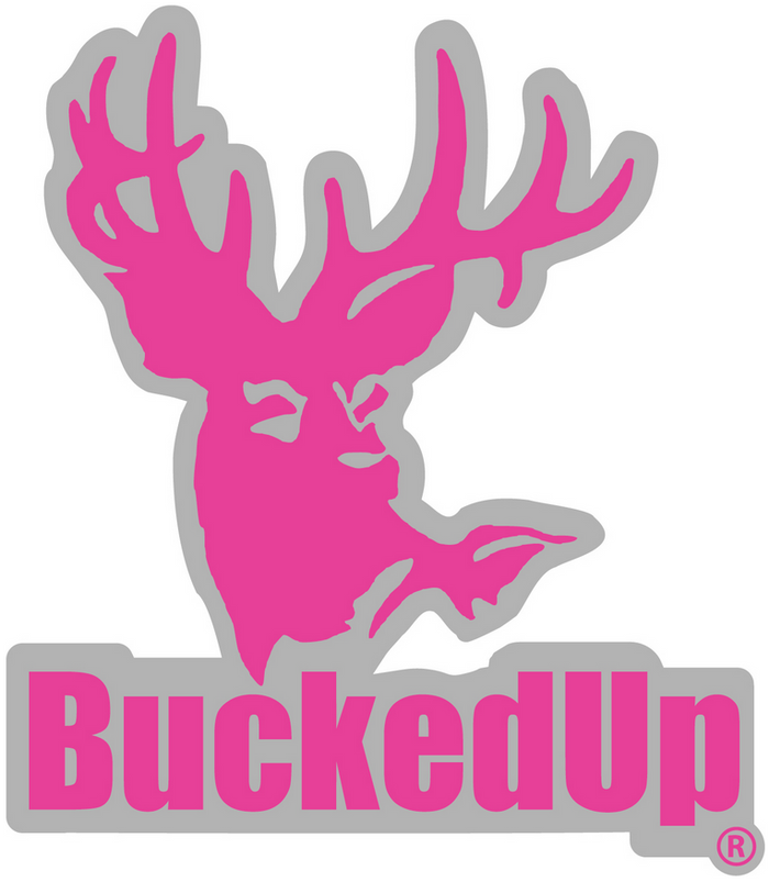BuckedUp Grey Pink Decal