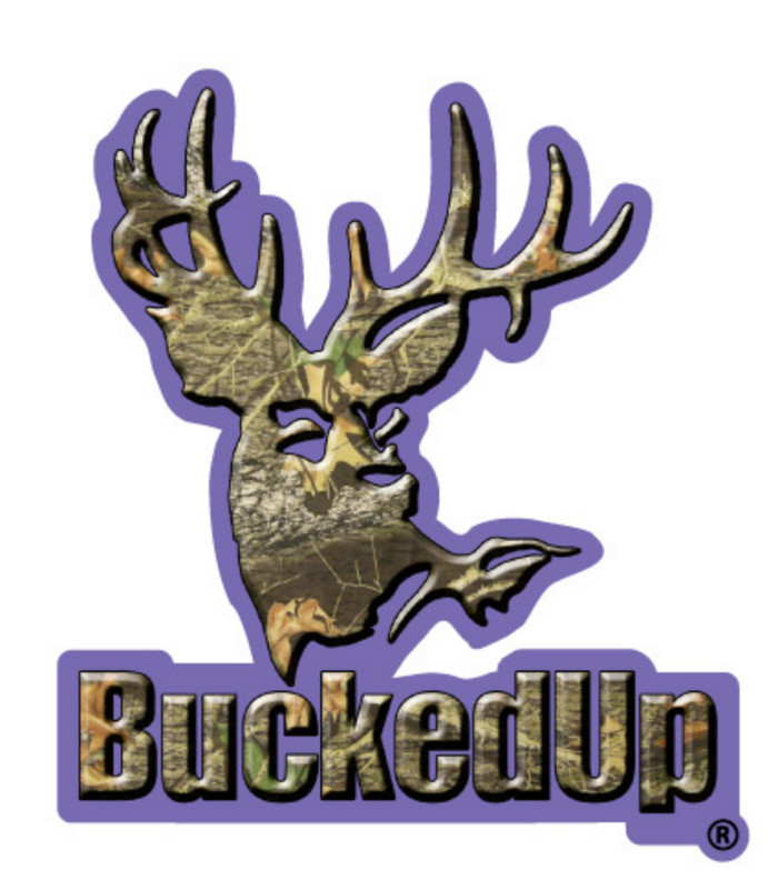 BuckedUp Purple Camo Decal