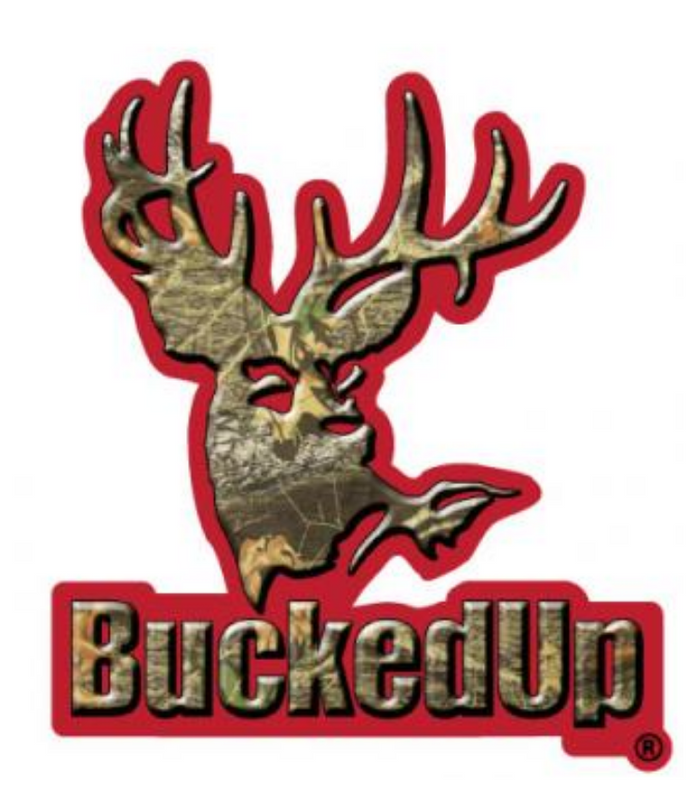 BuckedUp Red Camo Decal