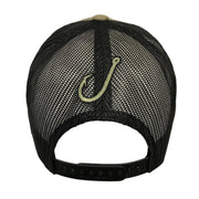Spooled Olive with Black Mesh Snapbacks