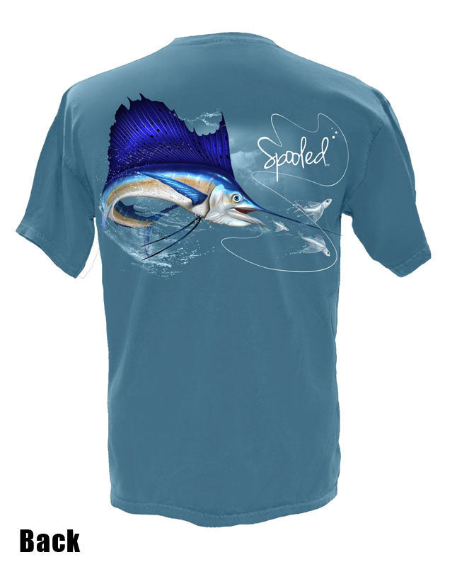 Short Sleeve Spooled Sailfish