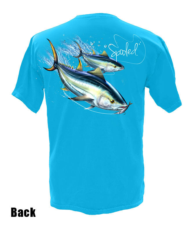 Short Sleeve Spooled Tuna