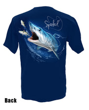 Short Sleeve Spooled Mako Shark