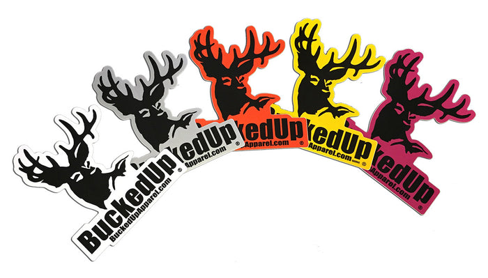 Decal - (White, Yellow, Pink, Orange, Grey)