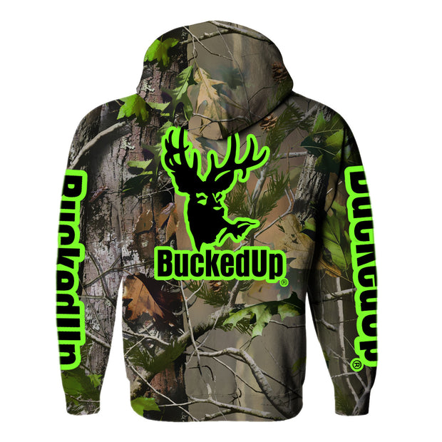 Pullover Hoodie Realtree APG Camo with Classic BuckedUp® Logo