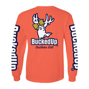 New Long Sleeve Coral with Southern Girl Bow Logo