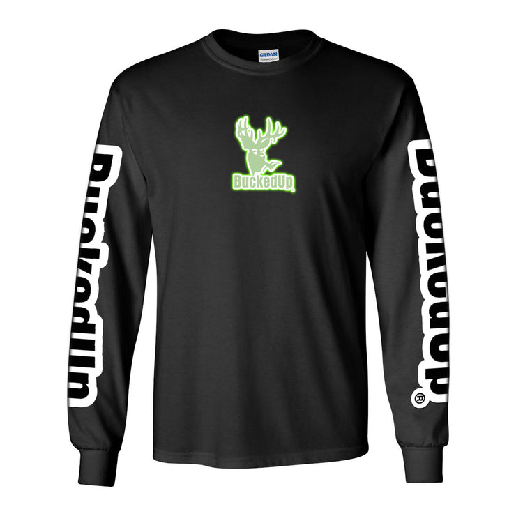 Long Sleeve Black with Glow Reflective Logo