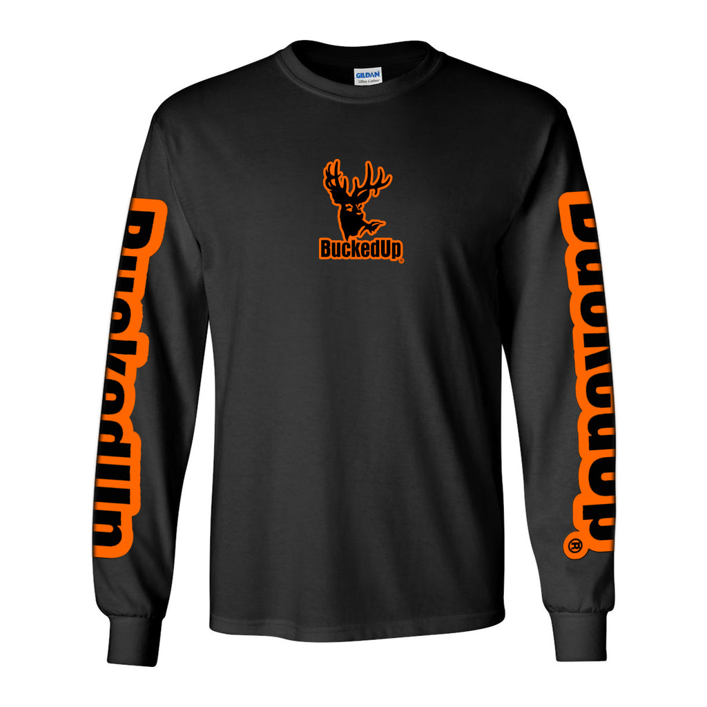 Long Sleeve Black with Logo
