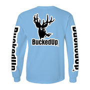 Long Sleeve Carolina Blue with White Logo