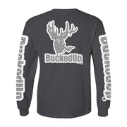 Long Sleeve Grey with White and Diamond Plate Logo