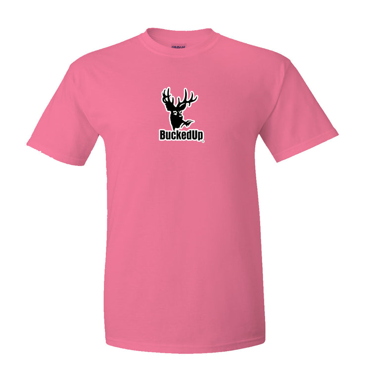 Short Sleeve Safety Pink with White Logo
