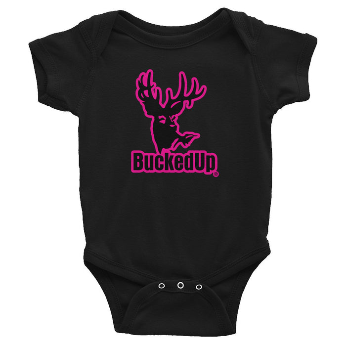 Infant Bodysuit Pink Logo