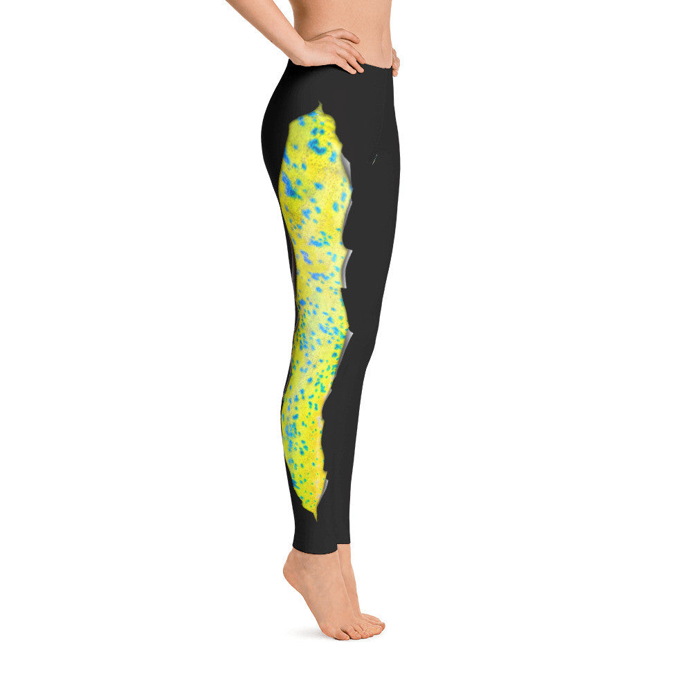 Spooled Mahi Dark Grey Leggings