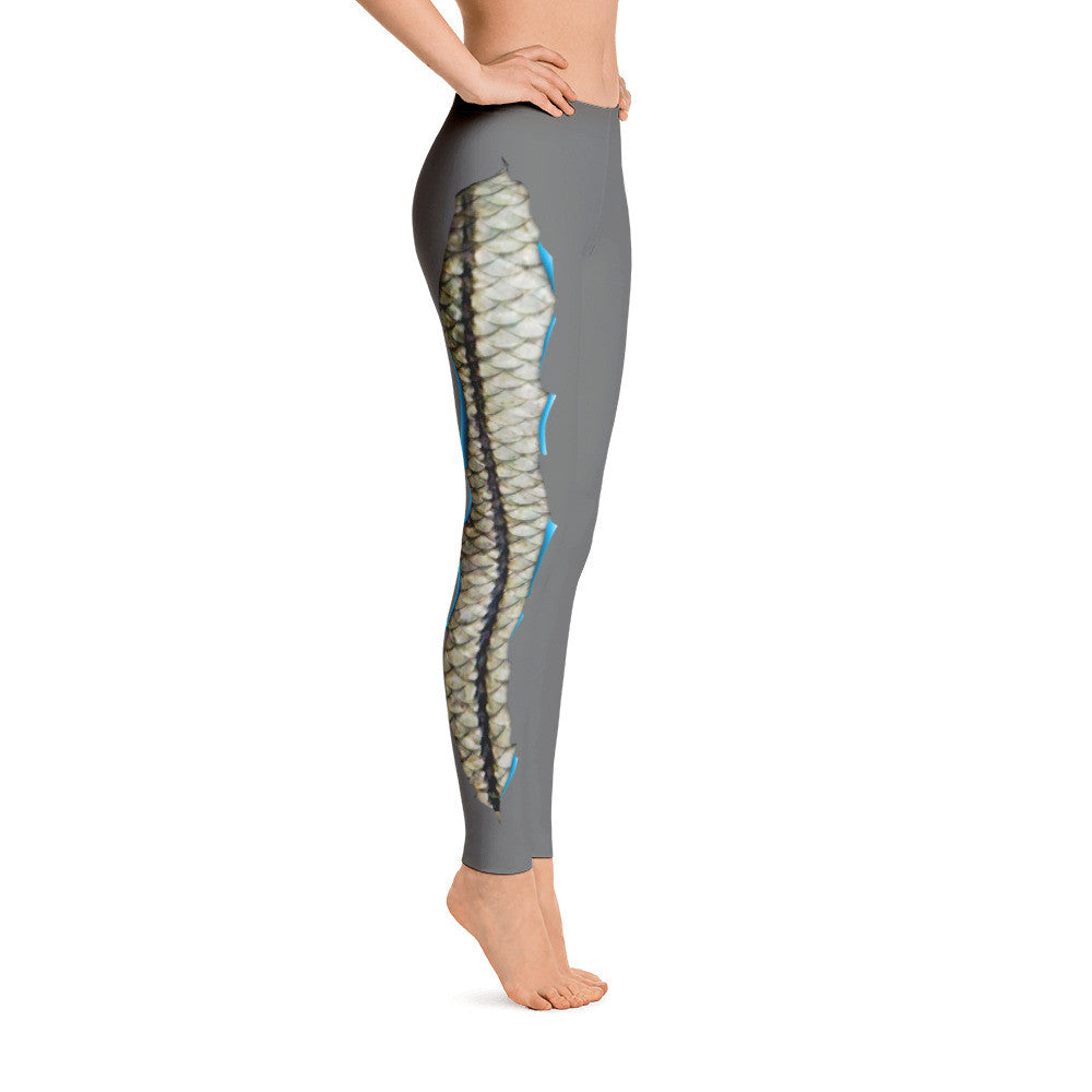 Spooled Snook Light Grey Leggings