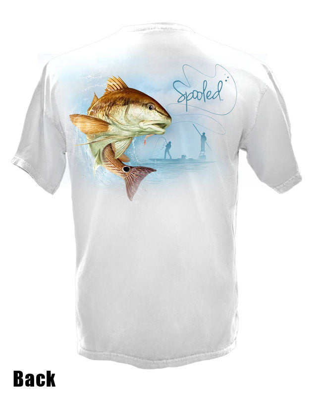Short Sleeve Spooled Redfish