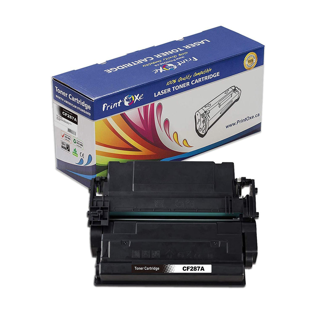 2 Compatible CF287A Toner Cartridges Replacement for HP 87A Each Delivers 9,000 - Pan Continent Inc. - PrintOxe