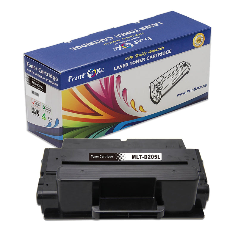 2 Compatible MLT-D205L Toner Cartridges Each Prints 5,000 Pages 205L for Samsung - Pan Continent Inc. - PrintOxe