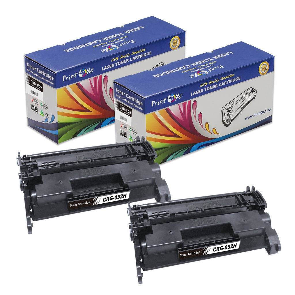 2 CRG-052H Compatible Toner Cartridges High Yield 052 2200C001 for Canon - Pan Continent Inc. - PrintOxe