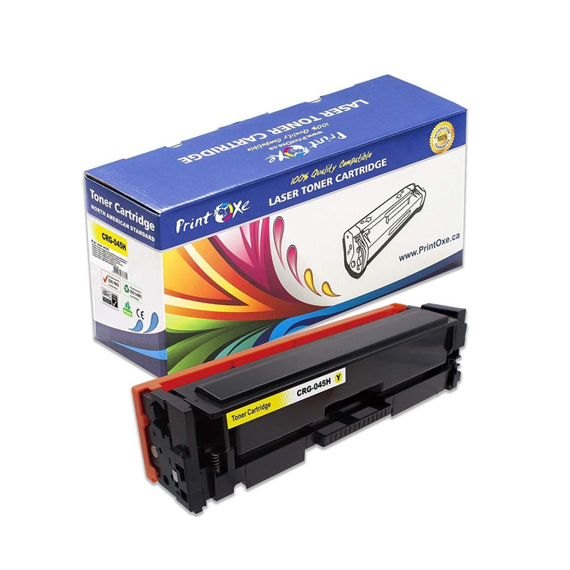 Canon CRG-045H Compatible 6 Toner Cartridges (Set + 2 BK) High Yield of 045 - Pan Continent Inc. - PrintOxe